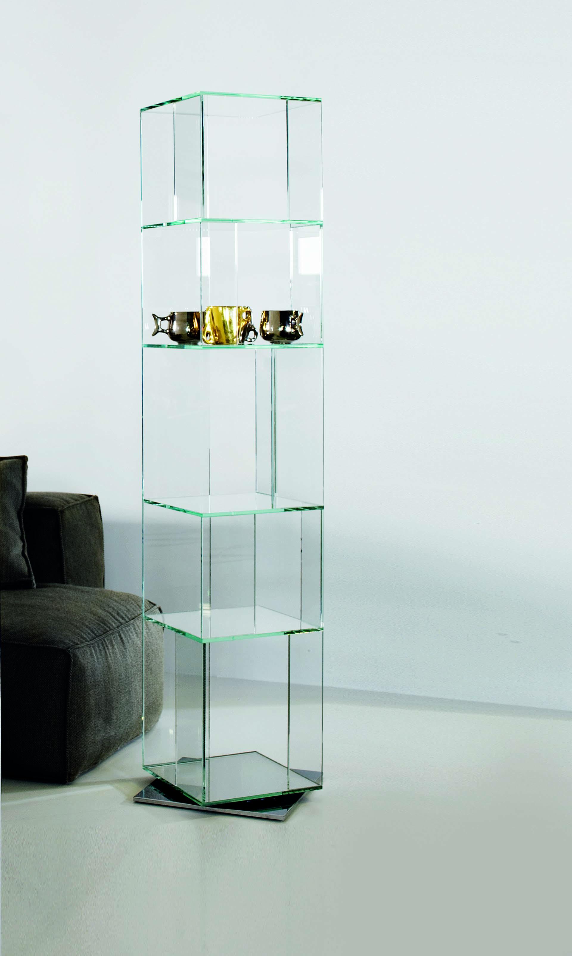 CIBIC GLASS BOOKSHELF BONALDO