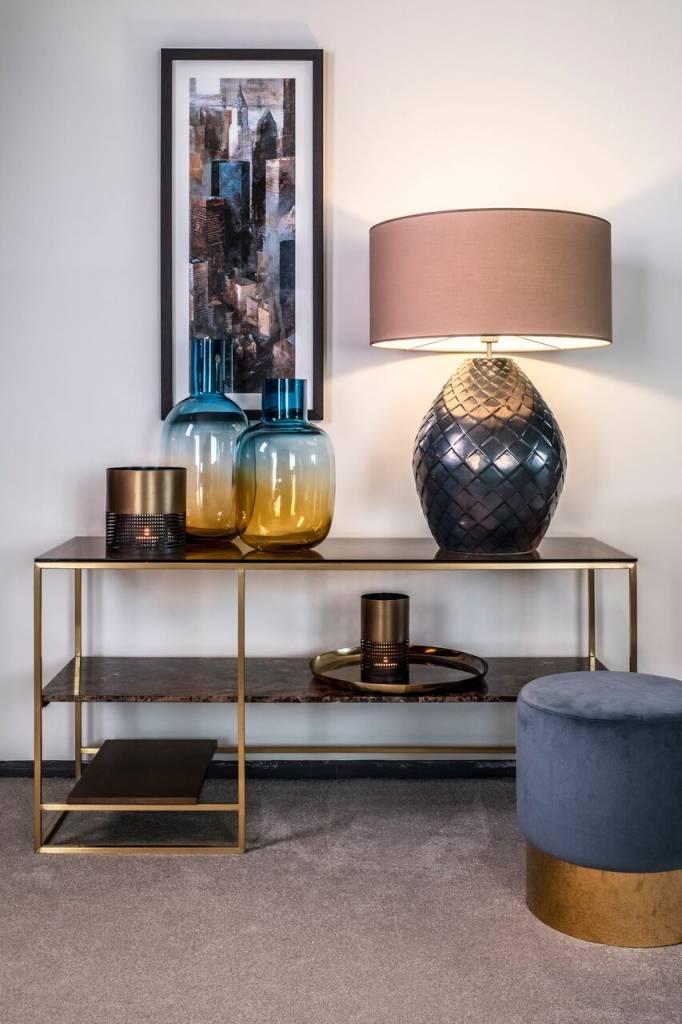 Dome Deco Table lamp - Ceramic - Bronze