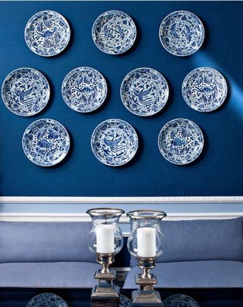 eichholtz blue chinese plates