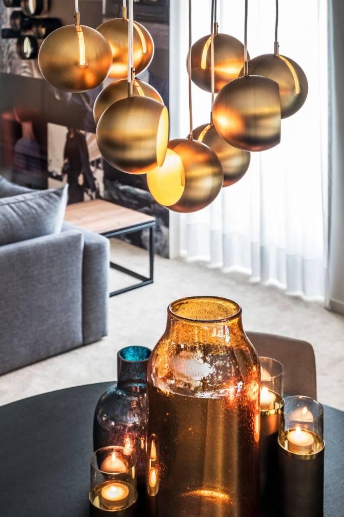 Glass Vase Dome Deco